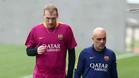 Mathieu, defensa del FC Barcelona