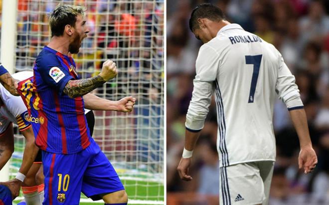 Messi y Cristiano Ronaldo, cara y cruz en este arranque de LaLiga Santander 2016 - 2017
