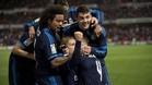 Modric rescata a un Madrid al borde de un ataque de nervios