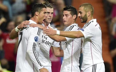 El Real Madrid pas� por encima del Basilea