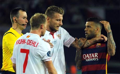 El Sevilla vuelve a cruzarse en el camino del FC Barcelona