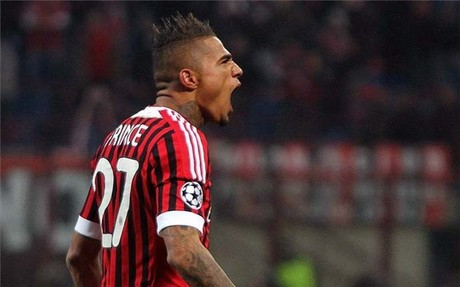 Boateng estar� contra el Bar�a