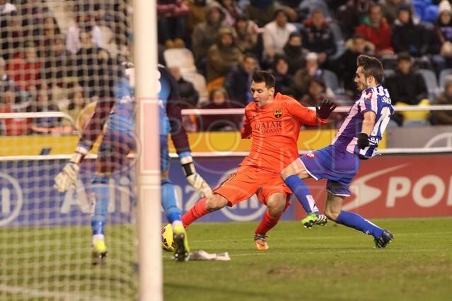 صور : مباراة ديبورتيفو لاكورونيا - برشلونة 0-4 ( 18-01-2015 )  1421614445347