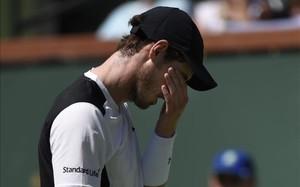 Andy Murray ha sufrido una dura derrota en Indian Wells