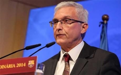 Antoni Rossich, director general del Bar�a desde verano de 2010