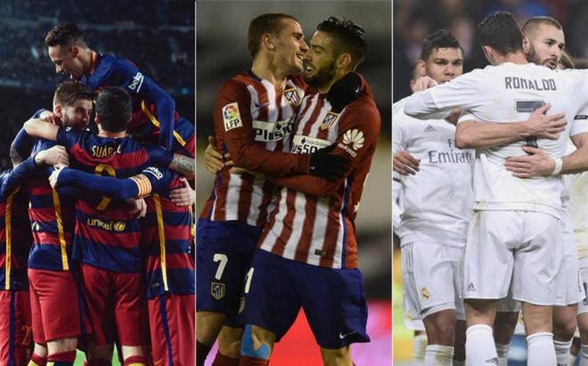 Bar�a, Atl�tico y Real Madrid juegan el primer asalto a la Liga