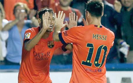 Cappa destaca la conexi�n Messi-Neymar