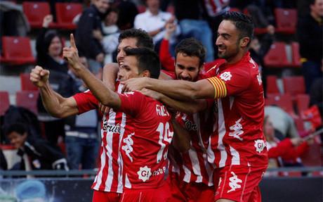 El Girona respira Primera