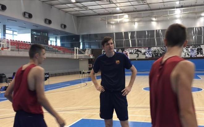 Gregor Fucka se ha incorporado a la disciplina del Bar�a Lassa como entrenador del Cadete B