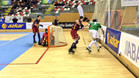 Bar�a y Liceo disputaron un partido vistoso y muy disputado