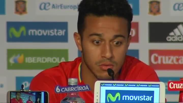 """Thiago: """"Es muy difícil meterle un gol a Italia"""""""