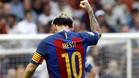 Messi, tras marcar el gol de la victoria