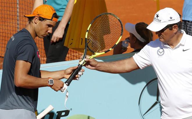 Nadal y Toni, con ganas de seguir con la buena racha en Madrid