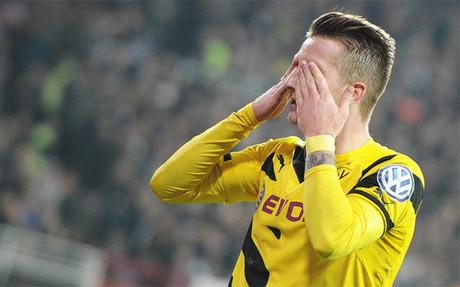 Reus, celebrando un gol con el Borussia Dortmund