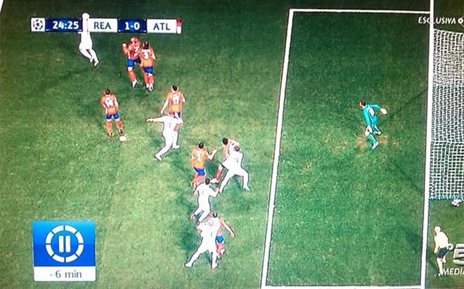 Sergio Ramos estaba en fuera de juego cuando marc� el goldel Real Madrid