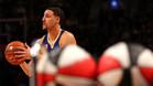 Thompson destrona a Curry como campeón de triples del All Star