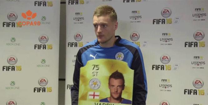 Vardy rompe de un cabezazo su pasada puntuaci�n en el FIFA