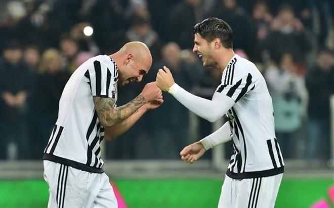 Zaza y Morata, una amistad nacida en la Juventus