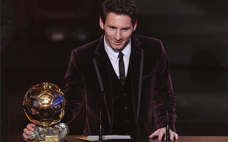 """Messi: """"Xavi,vos también te lo mereces"""""""