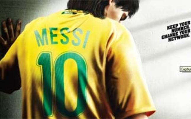 Messi, brasileño en el mundo de la publicidad | Foto: Univercell