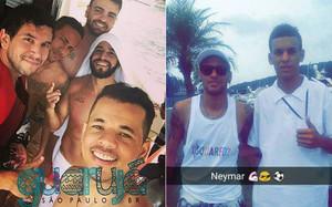 Neymar en Guarujá