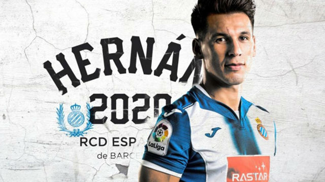 Hernán Pérez renueva hasta 2020