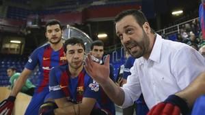 Ricard Muñoz no seguirá entrenando al Barça la próxima campaña