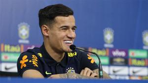 Coutinho reconoció su admiración por Neymar