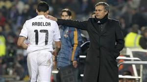 Arbeloa no esconde que sigue teniendo una gran relación con Mourinho