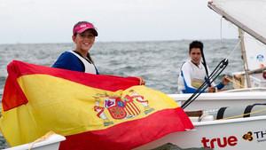 Maria Perelló, campeona mundial de clase Optimist