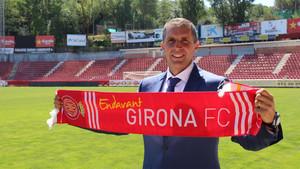 Geli ya espera con impaciencia la visita del Atlético a Montilivi