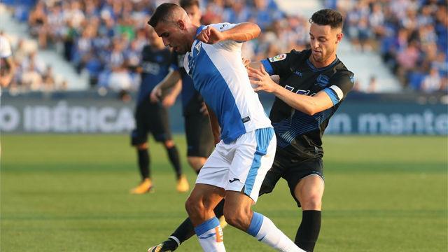 Vídeo Resumen Leganés - Alavés (1-0). Jornada 1 de la Liga Santander 2017-18