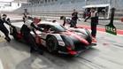 Alonso sale a pista con el Toyota en Bahrein