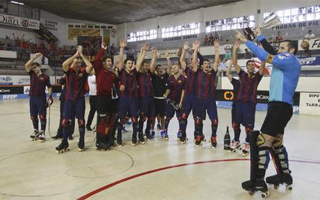 El Barça, campeón de la OK Liga