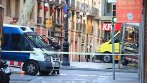 Barcelona vivió una noche trágica