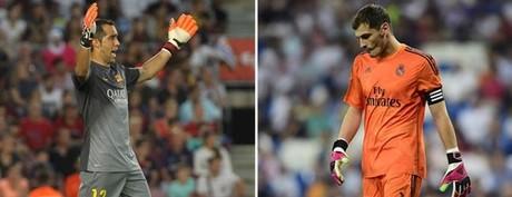 Bravo le est� ganando claramente la partida a Casillas
