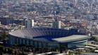 El Camp Nou se prepara para recibir al Arsenal