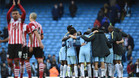 El City se bloquea ante el Southampton