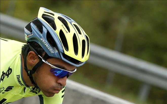 Contador no pudo aguantar ni el ritmo de Quintana ni el de Froome