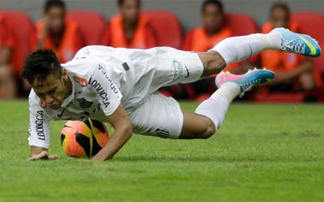 Neymar perdi� la final contra el Bar�a del 2011