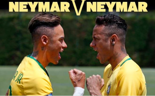 Neymar ya tiene su doble cera