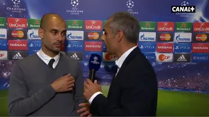 "Guardiola: ""Para quitarle el bal�n a Tour� Yay�"