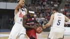 Tydese Rice fue el gran portagonsita en la semifinal ante el Madrid