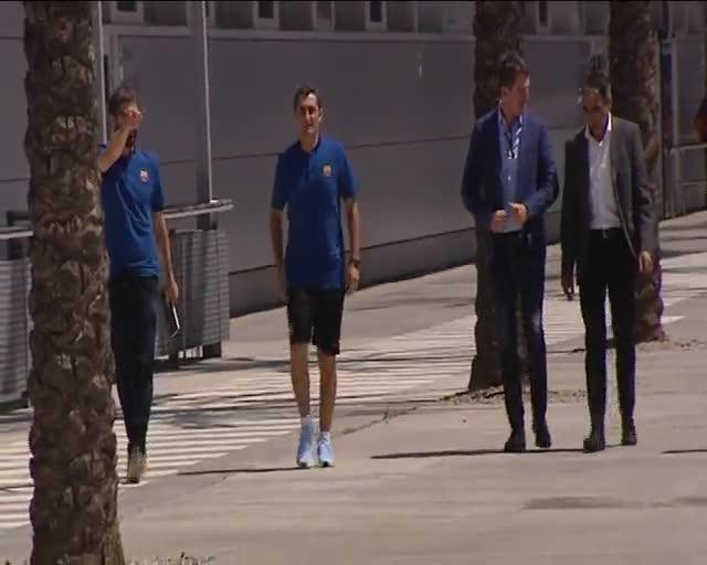 Valverde hizo su segunda rueda de prensa desde que es entrenador del Barça