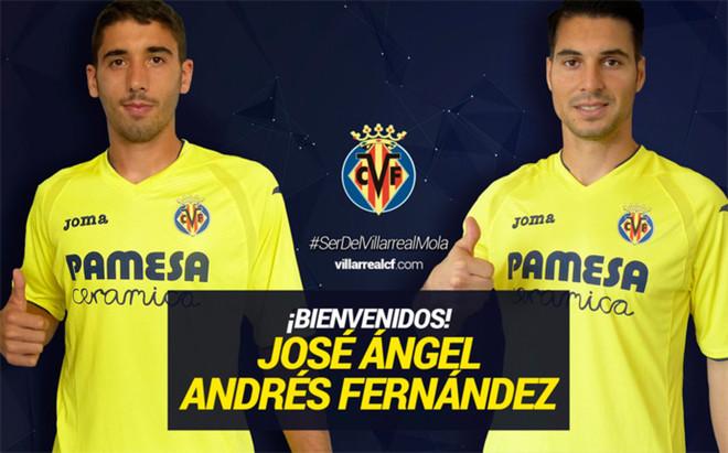 El Villarreal concret� la cesi�n de los dos futbolistas procedentes del Oporto