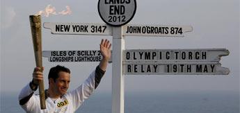 Ben Ainslie encendió el espíritu olímpico