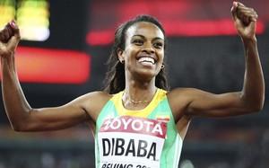 Genzebe Dibaba batió de forma espectacular el récord mundial indoor de la milla
