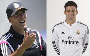 Zidane citó a su hijo para entrenar con el primer equipo