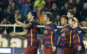 El Barça celebró otra gran victoria