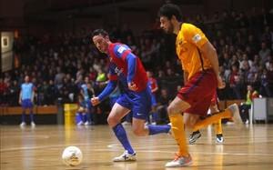 Marc Tolrà fue básico en la victoria del Barça con dos goles